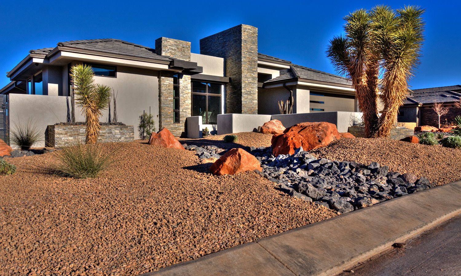 Ecogreen landscaping in st george utah synthetic grass for Landscape design utah